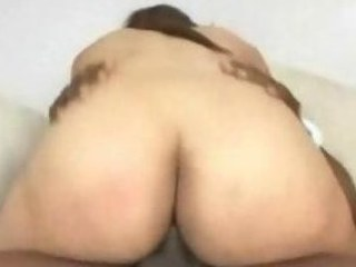 Enjoyable ass sooty slut goes riding on a bbc