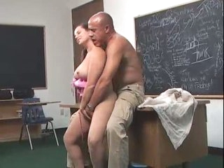 Fleshy Mama Experiences Teacher's Huge Cock...F70