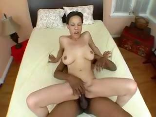 Half-blooded hottie Alicia gets her smoothie plugged with biggest black shlong