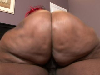 Ms. Marshae has an earthquake butt. That large black booty rumbles when this babe walks and interrupts her when this babe talks. Getting your dick in her snatch is about as soft as sliding a stick of butter betwixt two warm down pillows!