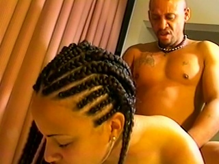 Hail to the cumming of this brunette, Black slut as she exposes her...