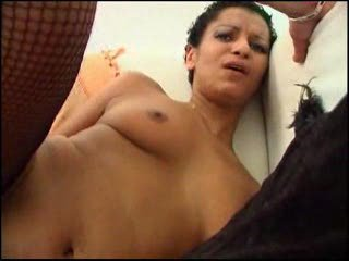 Short Haired Black Gal Gets Fucked