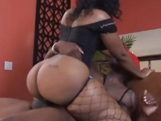 Cherokee D Ass loves getting her moist snatch slammed