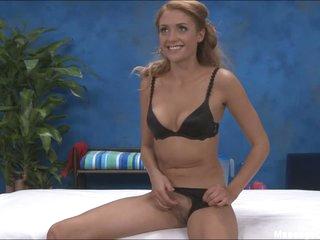 Lovely Ashton in black bra and panties