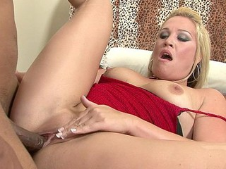 Jaycie Lane says her spouse won't fuck her coz this babe's getting chubby, but we totally love her large bubble booty!  In fact, we couldn't await to stick a knob in it!  Just look at this horny older blond, that babe can't get sufficiently fucking as her soaked crack is pounded as hard and unfathomable as that babe indeed needs by a darksome ebony dick!