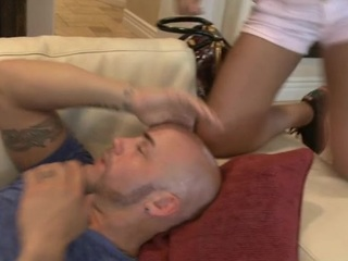Unfathomable drilling session for sweet ebon darling