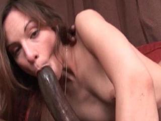Hottie takes a large unconscionable gumshoe down her prospect hole