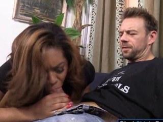 Busty ebon Katt Garcia gets anal pounded