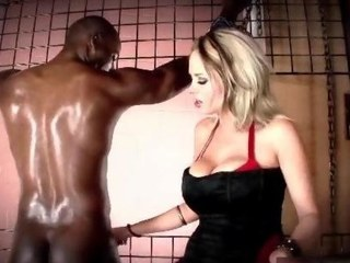 Kinky enormous boobs golden whipping a Negroid