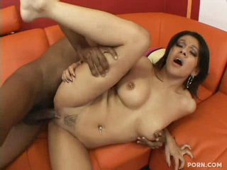Lalin girl slut Vanessa Leon begging to be banged by a large black weenie