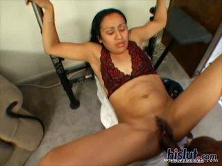 This slut loves black rod