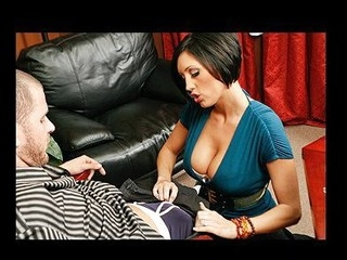 Scott is playing in a high stakes poker game against his boss. When the boss' wife, Dylan, comes in to watch the game this babe catches Scott cheating! When her spouse leaves on a sudden call, this babe blackmails Scott into paying her half of his winning, giving her a play with his penis, and a solid lengthy fuck.
