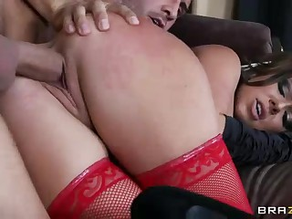 Inked up witch Julia Bond gets hard fucked
