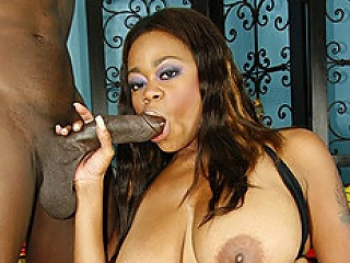 Tasha is a dirty MILF, and she loves taking a black knob deep inside...