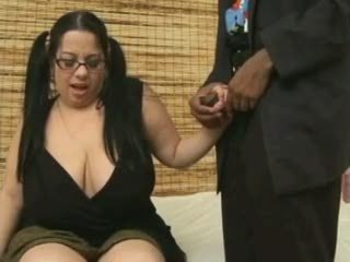 White bbw having sex with black dude