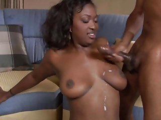 Sensual Aryana Starr gets doused with warm nut juice