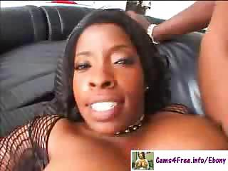 Ebony Hot Black MILF Vanessa Blue!