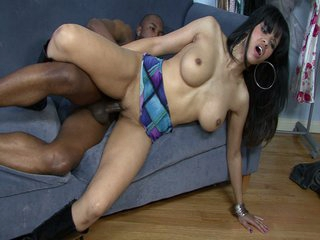 Darksome milf with a constricted body and beautiful tits
