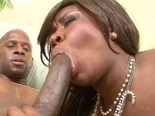 Amile Waters had an amazing apple bottom and we just had to tap that!  This beautiful chocolate babe was downright freaky, offering up her taut wazoo hole out of being asked.  That Babe gets a long monster dick pushed so far into that bubbly booty and then takes it in her fur pie and gets cum on her face after!