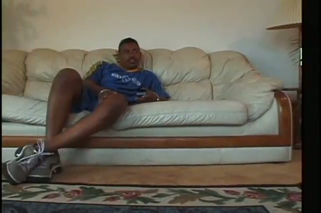 Ebony cheerleaders drilled by an another black hard dick in nail