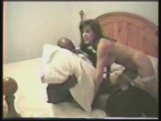 Mature white wife fucked by 2 BBC's.  Cuckold husband films.