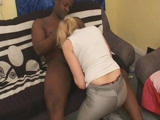 German blonde interracial