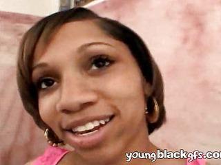 Sexy young dark girlfriend Ashley