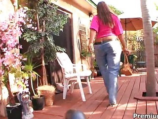 Sexy black mama Blaze large gets cumshot