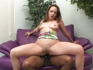 Jade Fire let her girlfriend sit on her strap on