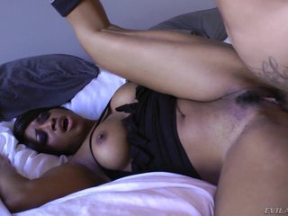 Imani Rose receives her hot pussy pressed with cock