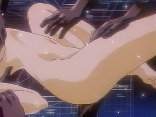 Perverted Hentai Babe Gets Finger Drilled by Ebony Hands